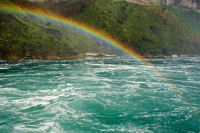 Rainbow over Rapids